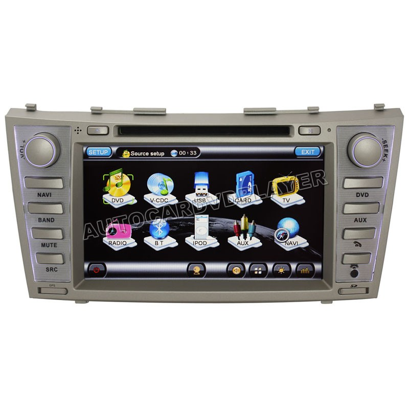2007 2008 2009 2010 toyota camry aurion 8 gps navigation. Black Bedroom Furniture Sets. Home Design Ideas