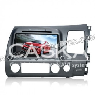 CASKA Honda Civic (RHD) DVD Player GPS Navigation, radio CA3678