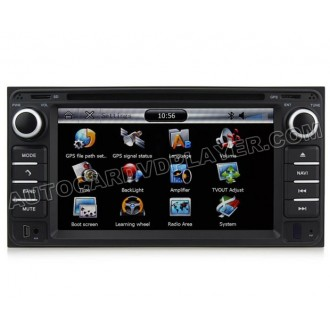 OEM Factory-Style DVD GPS Navi Radio For Toyota 4Runner + Bluetooth Handsfree iPOD Phonebook