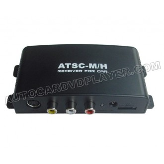 Mobile DTV Car ATSC Digital TV Converter For USA Canada Mexico