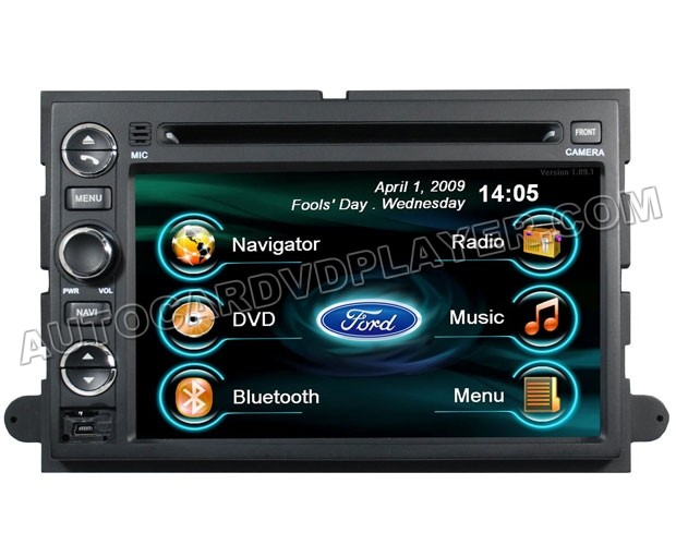 2006~2010 Ford Edge Fusion DVD GPS Navigation In dash - FUSION ...