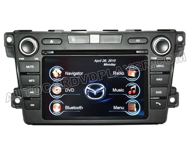 oem factory style mazda cx 7 dvd gps navi radio update. Black Bedroom Furniture Sets. Home Design Ideas