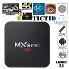 MXQ Pro Android TV Box Amlogic S905 Chipset Kodi 15.2 Full Loaded Android 5.1 Lollipop OS TV Box Quad Core 1G/8G 4K Google Streaming Media Players with WiFi HDMI DLNA