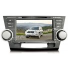 CASKA Toyota Highlander DVD Player GPS Navigation, radio CA3637
