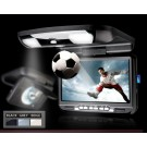 "9"" Roof Mounted IR Transmitter Car DVD Player Built-in IR&FM Transmitter"