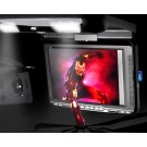 "10.4"" roof mounted/IR Transmitter/DVD player  Built-in IR & FM Transmitter"