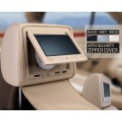 "2x7"" IR/ FM Transmitter Headrest DVD Players 32 Bits Games Function"