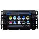 "7"" Touchscreen DVD GPS Navigation Player with Bluetooth iPod Control V-CDC for 2007-2010 Chevrolet Silverado"