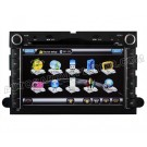 "7"" HD Touch Screen DVD GPS Navigation Player with iPod Radio BT for 2004-06 Ford Focus"