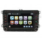 """7"""" Digital Touch screen DVD GPS player with BT iPod RDS CAN-BUS and optional RDS-TMC for VW CADDY"""