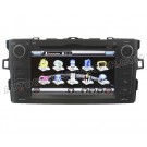 """7"""" HD Touchscreen GPS Navigation system with DVD Player iPod PIP RDS Virtual-CDC for Toyota Auris"""