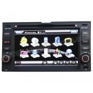 KIA Cerato Sportage Carens Carnival Rio DVD-base Navigation System with digital color touch screen