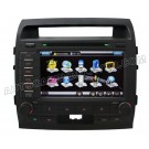 "8"" HD Touchscreen DVD GPS Navigation Player with PIP RDS iPod V-CDC for TOYOTA LANDCRUISER"