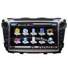 "7"" HD Touchscreen DVD GPS Navigation Player with PIP RDS iPod V-CDC for HYUNDAI VERNA"