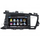 "Car DVD Player with GPS navigation and 8"" HD touchscreen and Bluetooth for KIA K5 & 2011 OPTIMA"