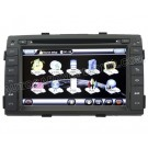 "2009-11 Kia Sorento DVD GPS Navigation Player and 7"" HD Touchscreen and SWC iPod PIP RDS Virtual-CDC"