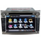 "7"" HD Touchscreen DVD GPS Navigation Player with PIP RDS iPod V-CDC for 2009-2011 Subaru Legacy"