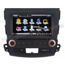 """Car DVD Player with GPS navigation and 8"""" HD touchscreen and Bluetooth for MITSUBISHI OUTLANDER"""