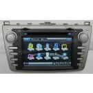 Car DVD GPS Navigation player with 7 Inch Digital HD touchscreen / PIP RDS Bluetooth CAN-BUS for 2008-2010 Mazda 6