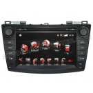 "2010 Mazda3 DVD Player with GPS navigation and 8"" Touchscreen / BT iPod"
