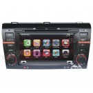 "2004-2009 Mazda 3 DVD Player + GPS Navigation system + 7"" Digital Touchscreen + iPod Ready + Steering Wheel control + Bluetooth"