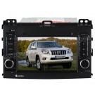 Custron OEM Factory-Style DVD GPS Navi Radio For Toyota Prado + Bluetooth Handsfree iPOD Phonebook