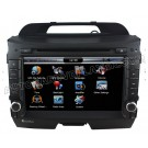 8 Inch Car DVD GPS Player For 2010 2011 Kia Sportage + AM/ FM/ RDS+Steering Wheel Control+ CDC phonebook