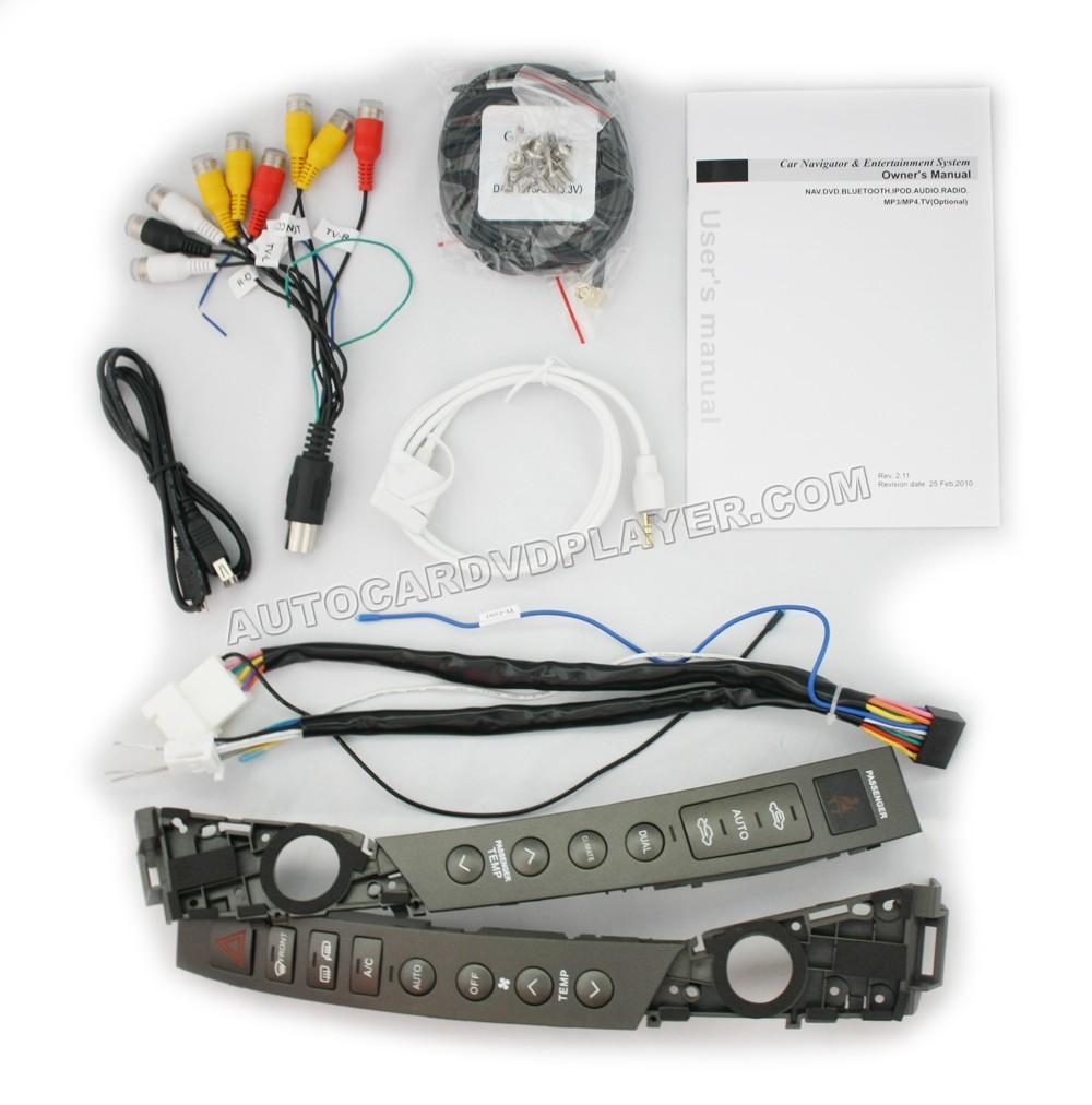 lexus es350 es240 oem factory gps navigation system all in. Black Bedroom Furniture Sets. Home Design Ideas