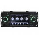 2002-07 Jeep Series DVD player with in-dash GPS navigation and Digital Monitor and iPod BT Control